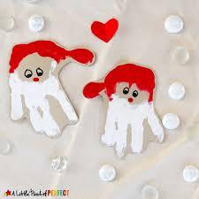 handprint santa an adorable craft for