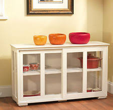 Glass Display Cabinet EBay - Kitchen display cabinet