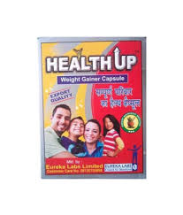 eureka labs health up weight gainer capsule pack of 2 buy eureka