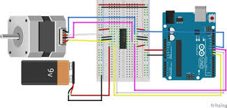 controlling a stepper motor with an arduino 8 steps with pictures