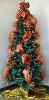 christmas tree decorating with mesh ribbon outlet quick
