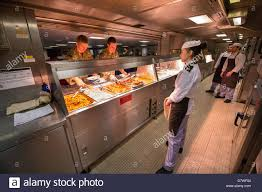 the main junior rates dining room onboard royal navy assault ship
