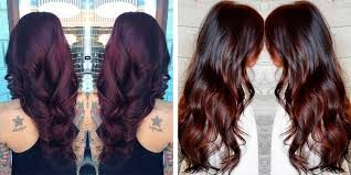 brown cherry hair color the 23 best brunette hair color shades