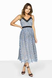 blue lace dress blue lace midi dress from