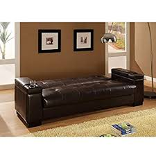 Convertible Storage Sofa by Amazon Com Coaster 300143 Coaster Convertible Sofa Sleeper With