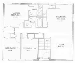small bungalow open floor plan home designs laferida com small modern concept