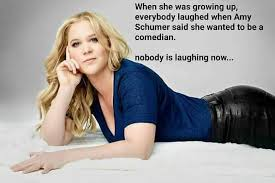 funnier than any joke she s ever made amy schumer know your meme