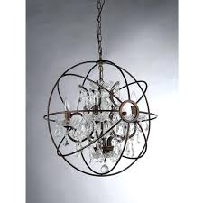 chandeliers home decorators collection 4 light brushed nickel