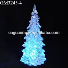 Color Changing Christmas Trees - color changing led glass christmas tree color changing led glass