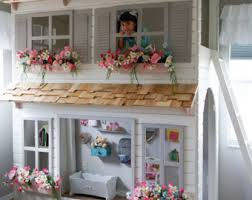 Doll House Bunk Bed The Ultimate Dollhouse Loft Bed Bunk Bed Or Bunk Bed
