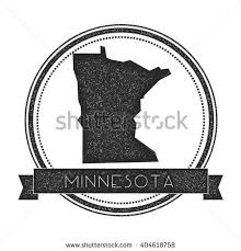 us vector map minnesota vector map st retro distressed stock vector 404618758