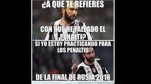 Tottenham Memes - higua祗n fall祿 un penal y protagoniz祿 los memes del juventus vs