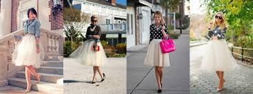 spodnica tiulowa inspiracje modowe spódnica tiulowa modaija