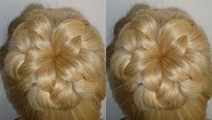 hairstyles with a hair donut easy and quick prom wedding hairstyle evening donut hair bun updo
