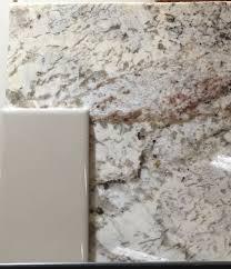Kitchen Countertops And Backsplashes Kitchen Granite White Springs Backsplash Dal Tile Urban Putty
