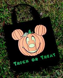 party city halloween treat bags mickey halloween trick or treat bag with free cut file the