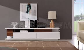 Credenza Tv Console 746 30 Modern Tv061 Tv Stand In White High Gloss Walnut T V