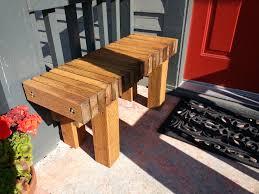 narrow backless outdoor bench brwarrickengineering