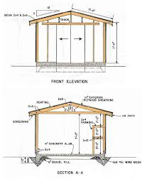 backyard shed blueprints gable shed blueprints 12 16 construction plans for backyard shed