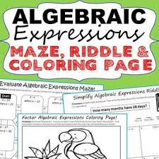 best 25 algebraic expressions ideas on pinterest solving