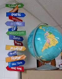 travel theme decor the savvy schoolteacher travel themed classroom teaching