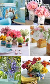 Tin Vases Idea Thief Vintage Tin Vases U0026 Spring Flowers Cakes Likes A Party
