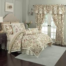 French Toile Bedding Neutral Beige Bedroom Painting With Pretty Waverly Toile Bedding