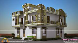 2800 square foot house plans double storied gujarat model house kerala home design and floor