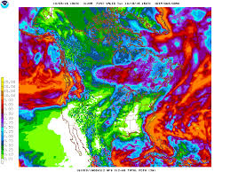 California Weather Map Cliff Mass Weather And Climate Blog Heavy Rain To Strike The