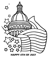 coloring cool july coloring pages independence happy 4