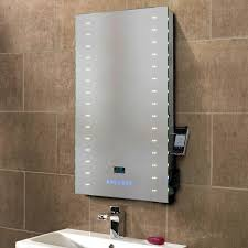 illuminated demister bathroom mirrors