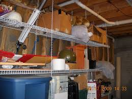 hanging wire shelving