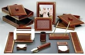 Office Desk Sets Leather Desk Sets Businessprofitclub For Office Desk Sets