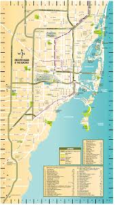 Miami Dade Map Greater Miami And The Beaches Map