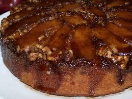 ez gluten free apple walnut upside down cake