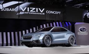 subaru concept 2017 hints at next gen wrx with viziv performance concept