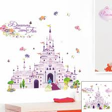 disney princess dreaming castle wall stickers nursery decal kid disney princess dreaming castle wall stickers nursery decal kid baby room decor