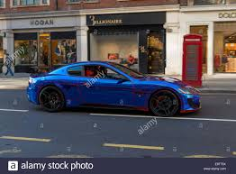 maserati granturismo blue london the maserati granturismo sport car spotted in knightsbridge