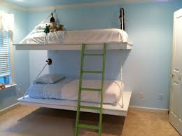 Wall Bunk Beds White Hanging Bunk Beds Diy Projects Pict Of Wall