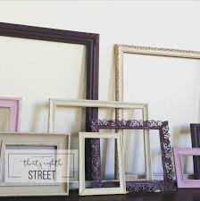Gallery Wall Frames by How To Create A Gallery Wall Using Old Picture Frames Thirty