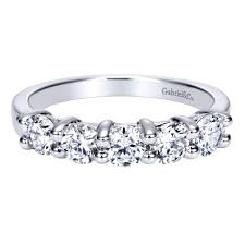 shine wedding band 14k white gold 5 diamond wedding band