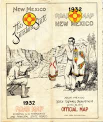 New Mexico Road Map by The World U0027s Best Photos Of Ephemera And Roadmap Flickr Hive Mind