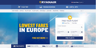 Ryanair Route Map by The Ux Dark Patterns Kaiting Huang