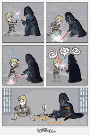 Memes De Star Wars - star wars sin baterías humor risa graciosas chistosas