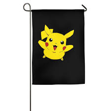 amazon com well know pokemon pikachu design fashion garden flags