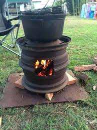 Firepit On Wheels Coleman Pit 2jpg Coleman Portable Pit Wheels Coleman