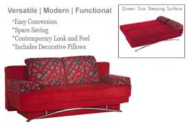 Futon Sofa Bed Queen by Red Futon Couch Fantasy Contemporary Sofa Sleeper The Futon Shop