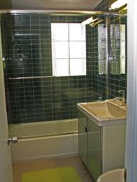Modern Tiled Bathrooms - mid century modern vanity upgrades every bathroom with perfect