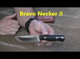 bark river bravo necker ii edc knife youtube