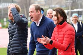 where do prince william and kate live kate middleton prince william and prince harry race for charity for